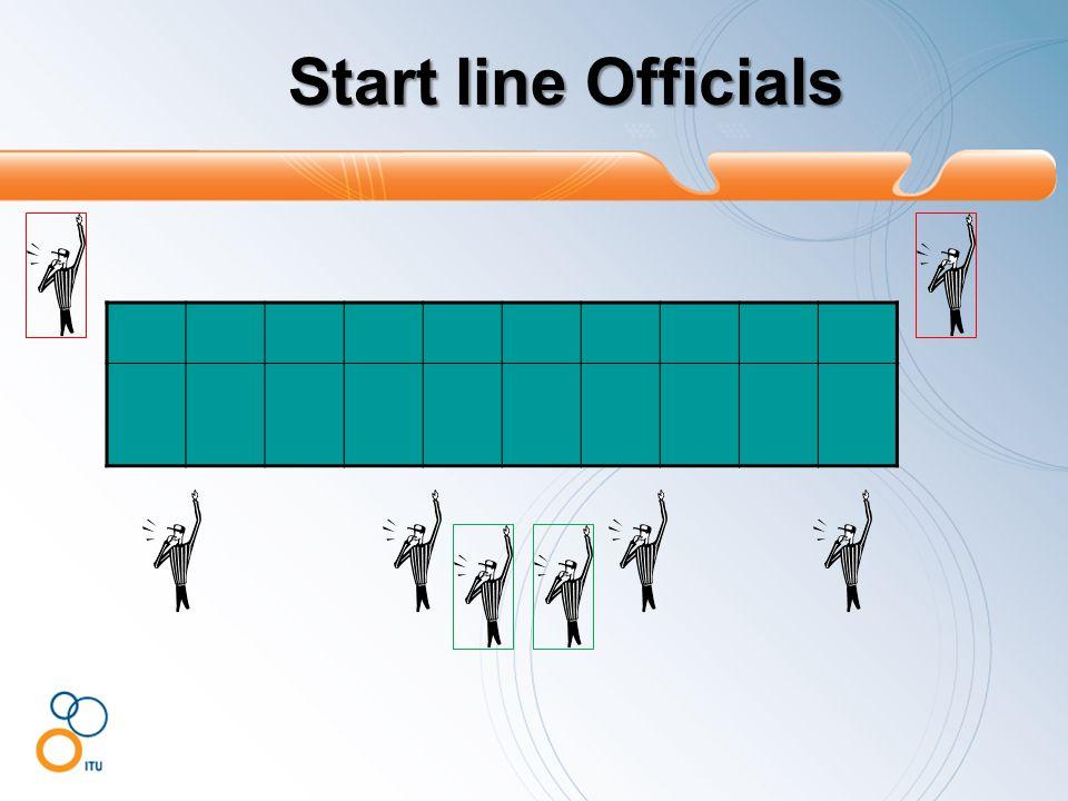 Start line Officials