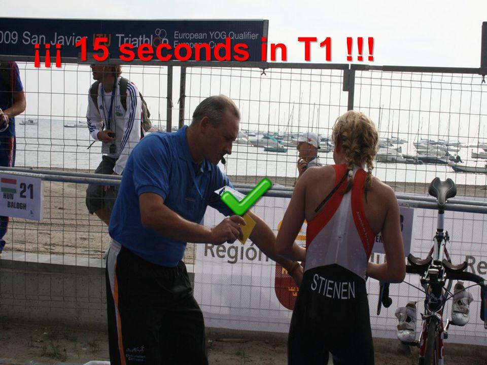 ¡¡¡ 15 seconds in T1 !!!
