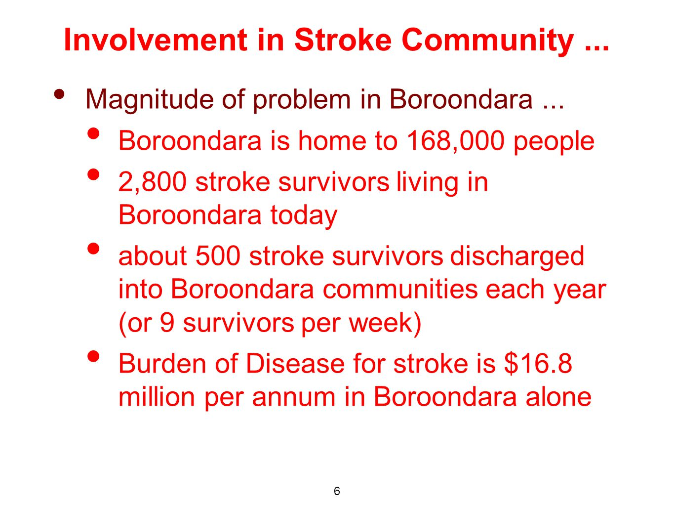 Magnitude of problem in Boroondara...