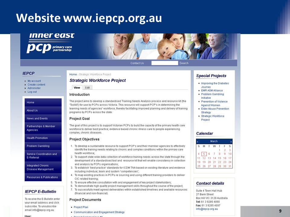 Website www.iepcp.org.au 9