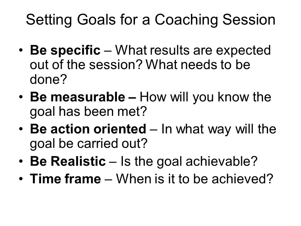 The Grow Model of Coaching Builds on a series of questions that form the basis of each coaching session.