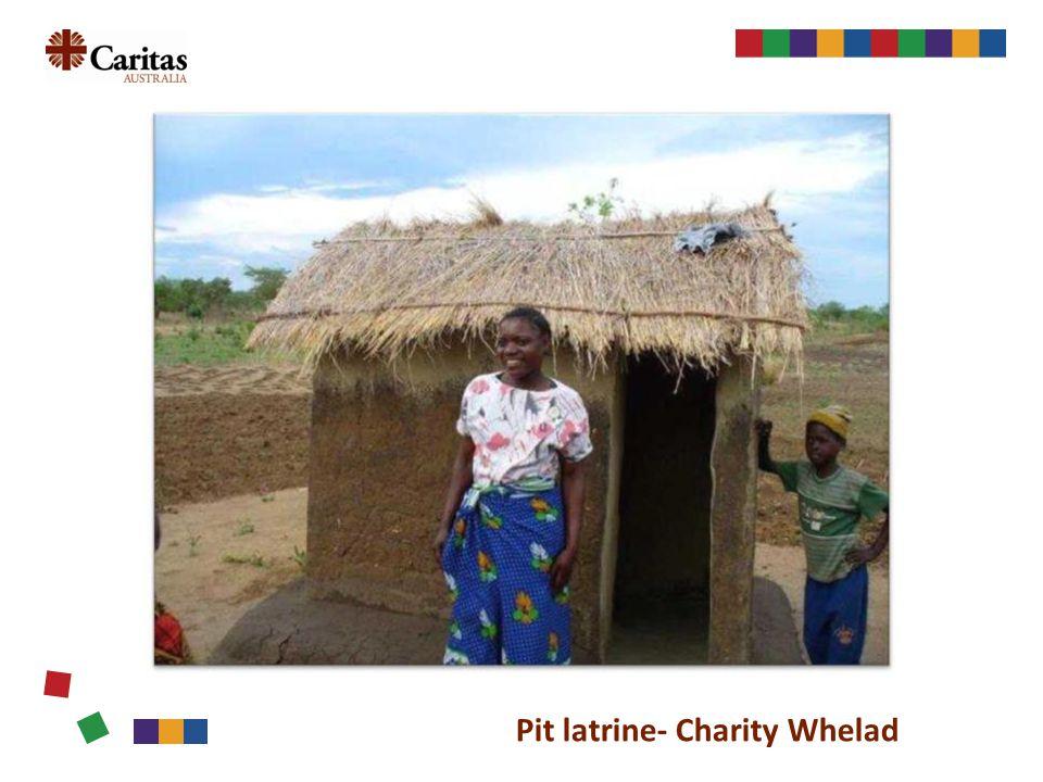 w Pit latrine- Charity Whelad