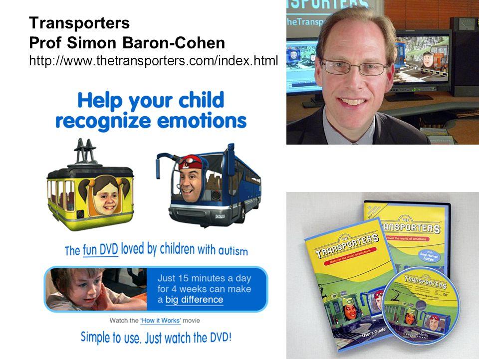 Transporters Prof Simon Baron-Cohen http://www.thetransporters.com/index.html
