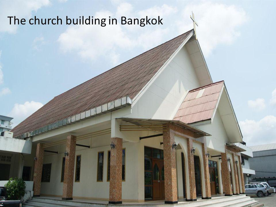 The church building in Bangkok