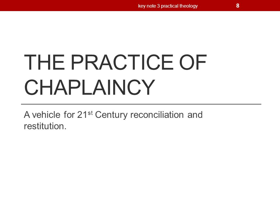Reconciliation and restitution in the 21 st Century Sarah Hills – Train theology Bicycle Theology Two way restitution Reconciliation includes restitution and perhaps forgiveness Deliberate acts of restitution key note 3 practical theology 9