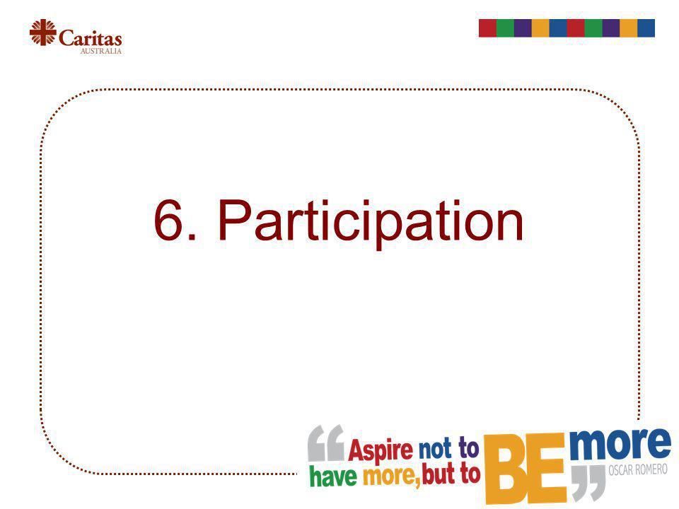 6. Participation