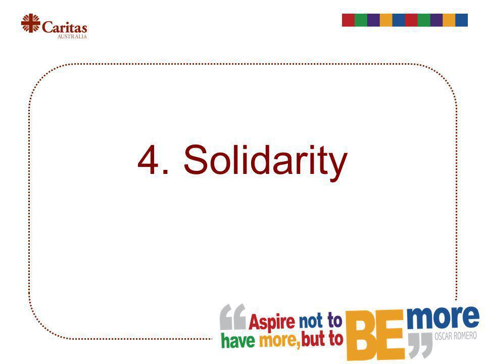 4. Solidarity