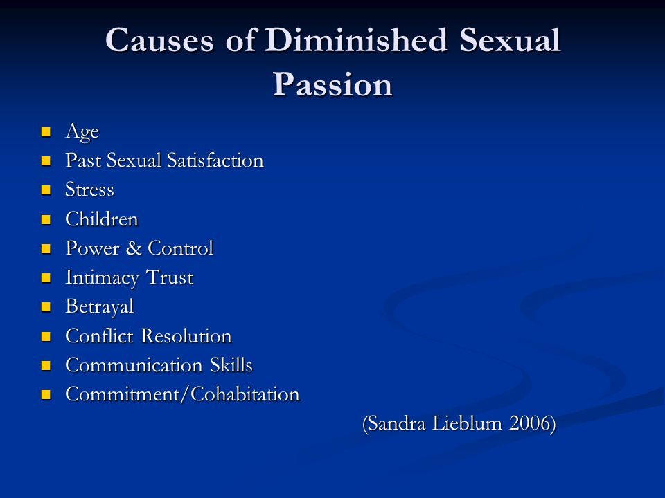 Biological risk factors Although psychological factors might account for much of the risk of dysfunction its possible that biological factors play a part Although psychological factors might account for much of the risk of dysfunction its possible that biological factors play a part The roles of oestrogen and testosterone in maintaining women's sexual health are not clearly understood.