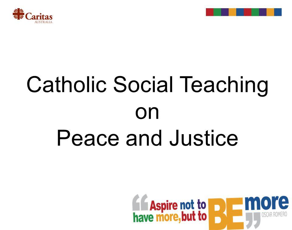 To reach peace, teach peace. Pope John Paul II, World Day of Peace Message, 1979