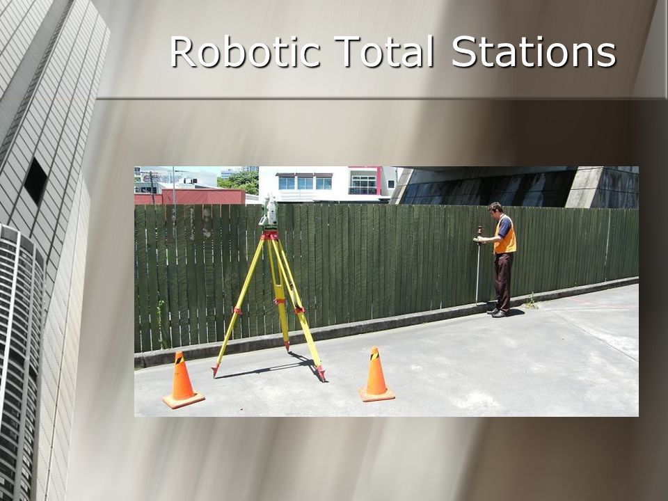 Robotic Total Stations