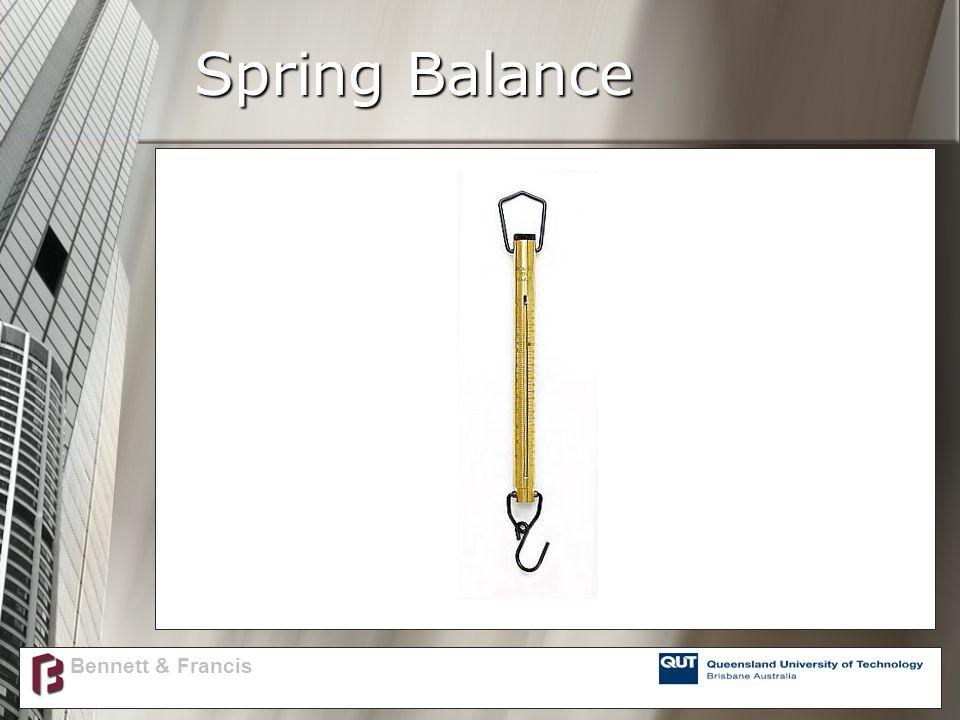 Spring Balance Bennett & Francis