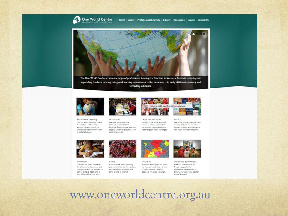 www.oneworldcentre.org.au