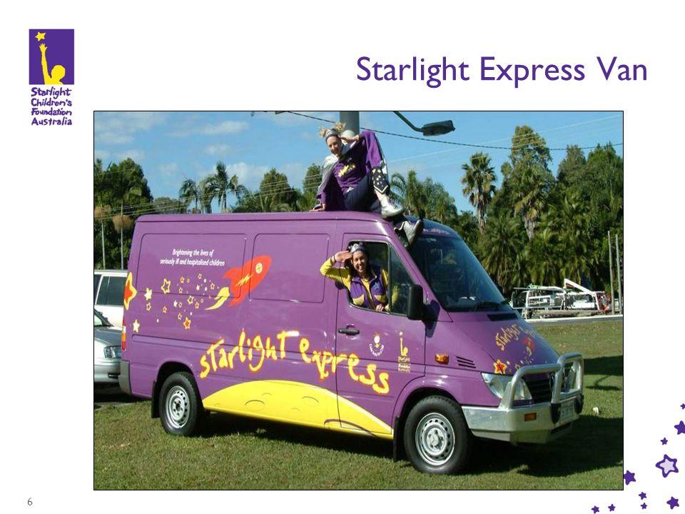 6 Starlight Express Van