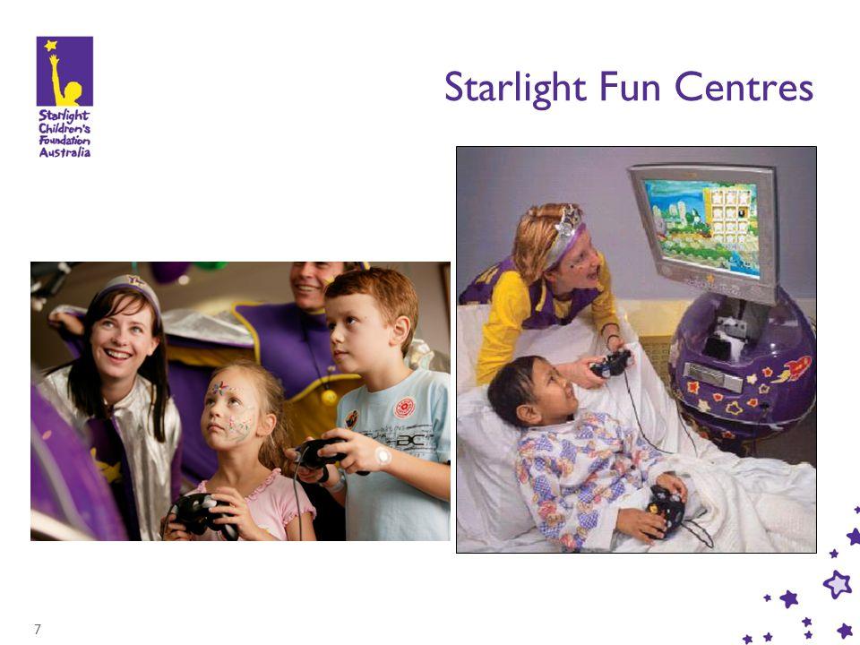 7 Starlight Fun Centres