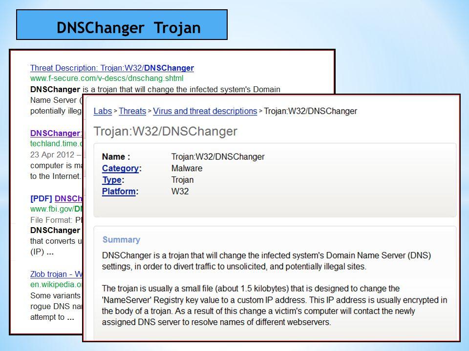DNSChanger Trojan