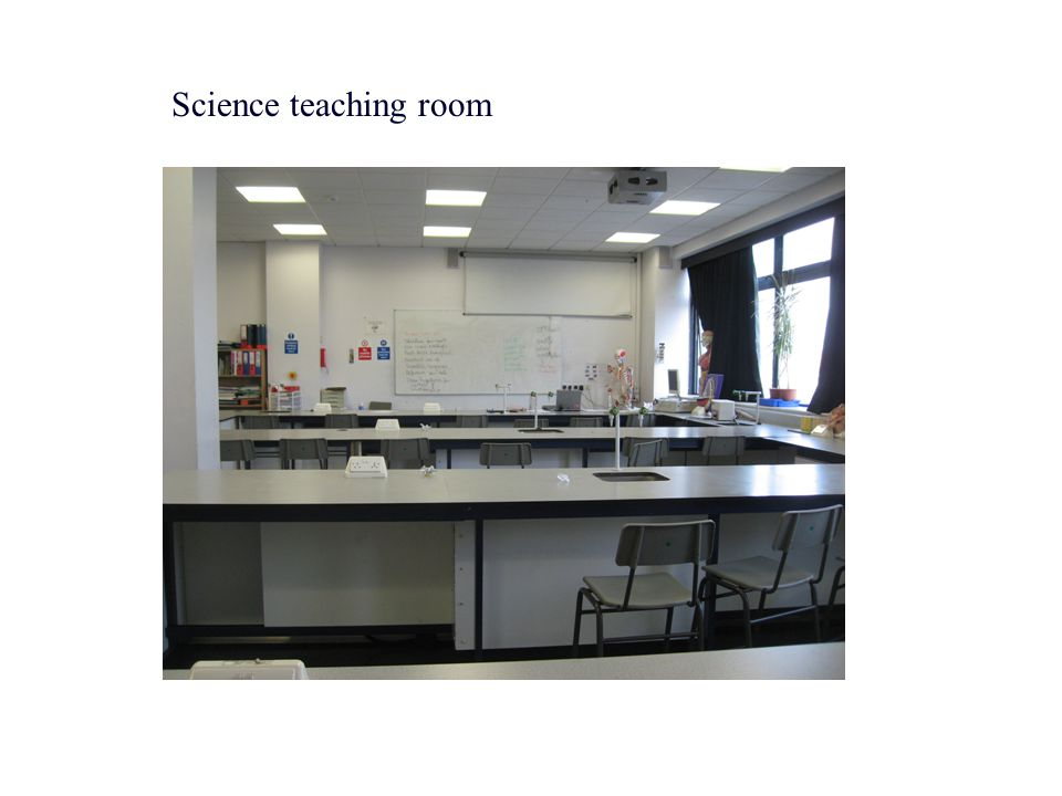 Science teaching room