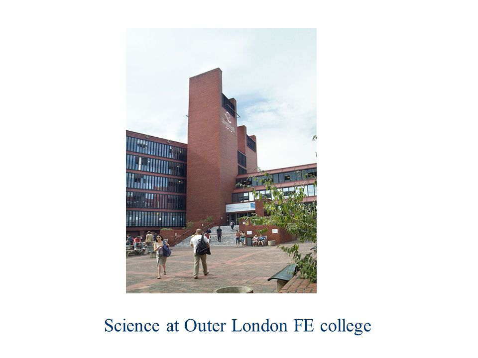 Science at Outer London FE college