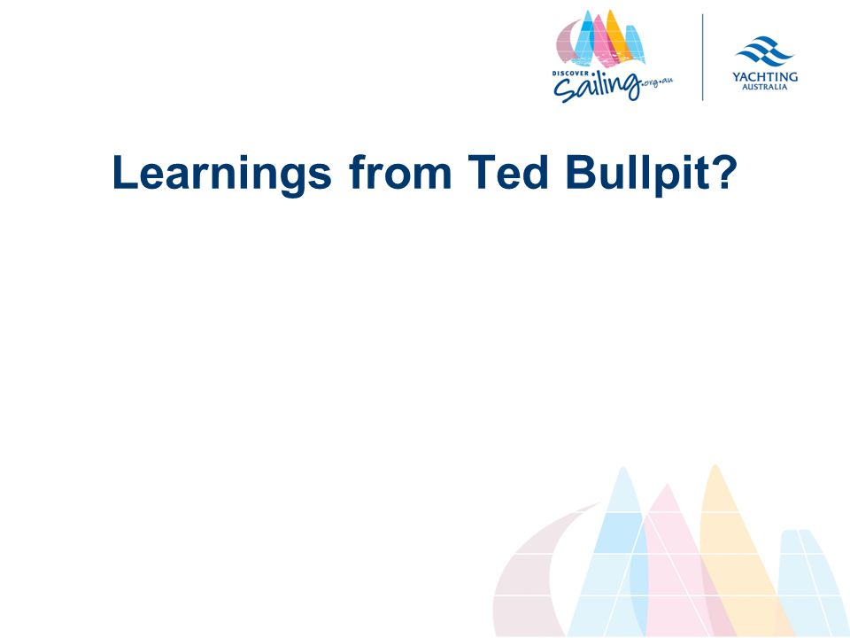 Learnings from Ted Bullpit