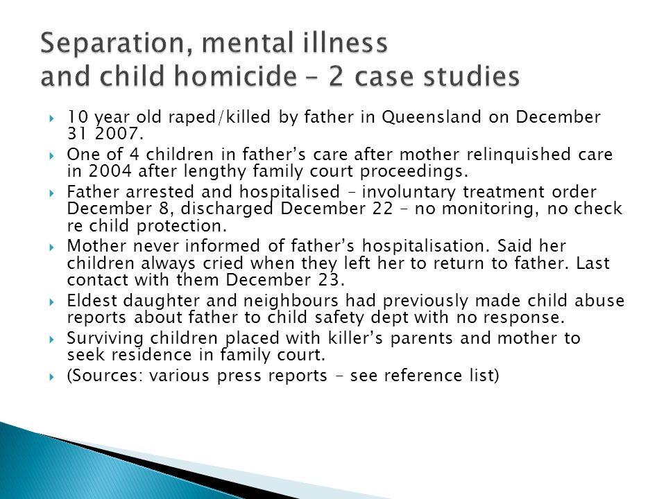  Australian Broadcasting Corporation (2004) Losing the Children Four Corners, August 16.