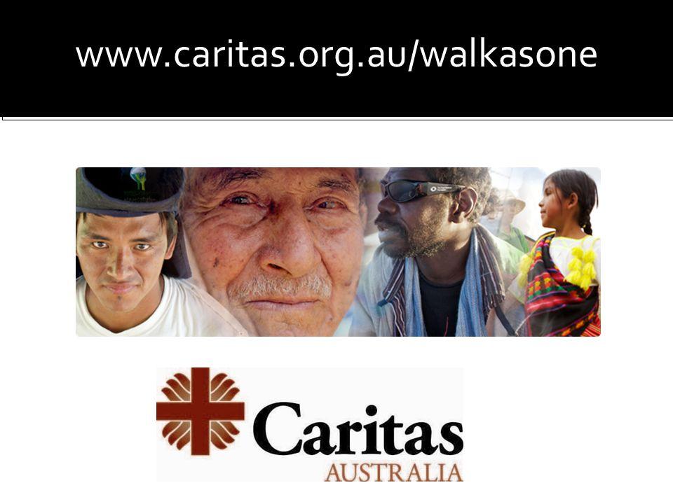 www.caritas.org.au/walkasone