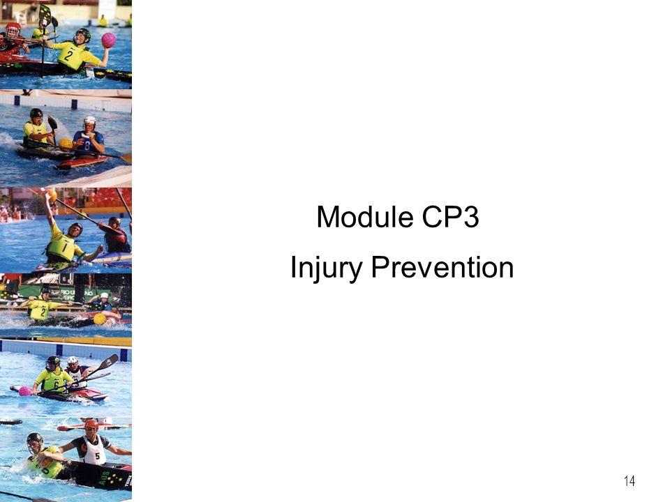 Module CP3 Injury Prevention 14
