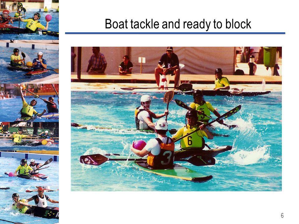 Ball awareness leads to good blocking 7