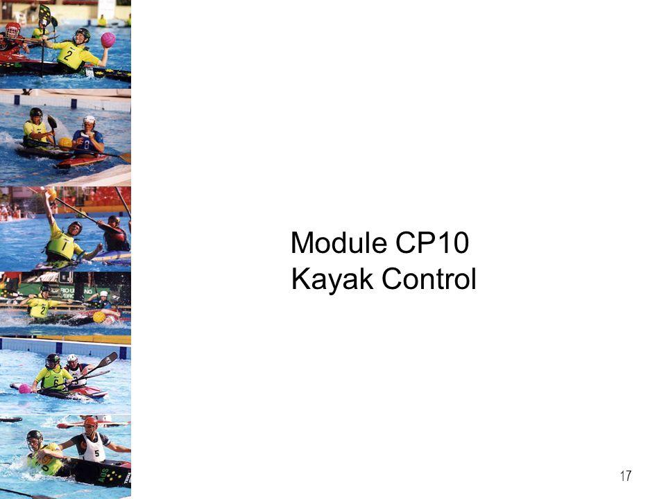 Module CP10 Kayak Control 17