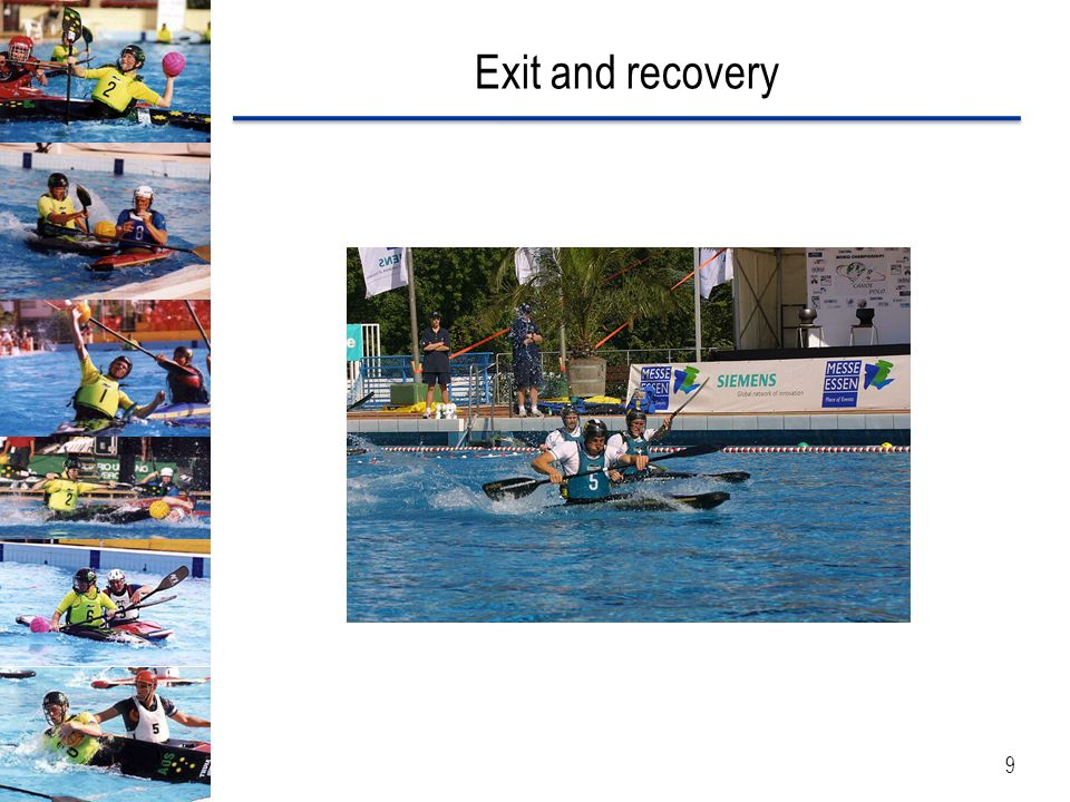 Exit and recovery 9