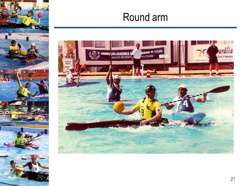 Round arm 21
