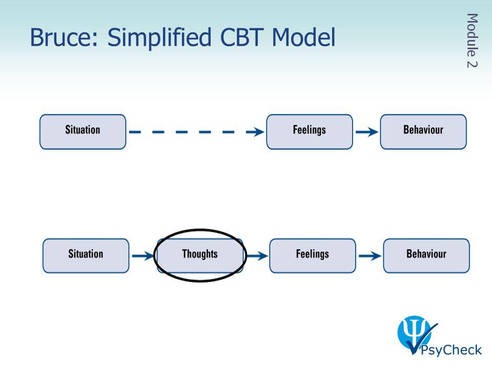 Bruce: Simplified CBT Model Module 2