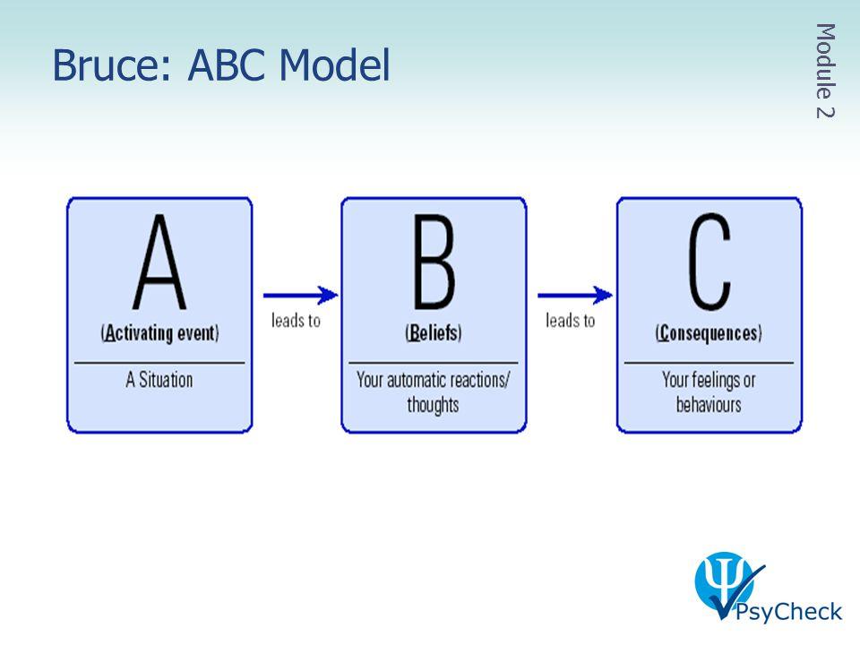Bruce: ABC Model Module 2