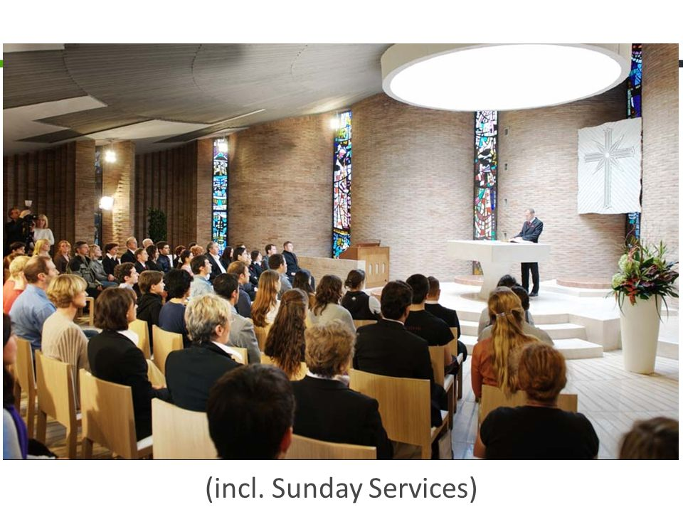 (incl. Sunday Services)