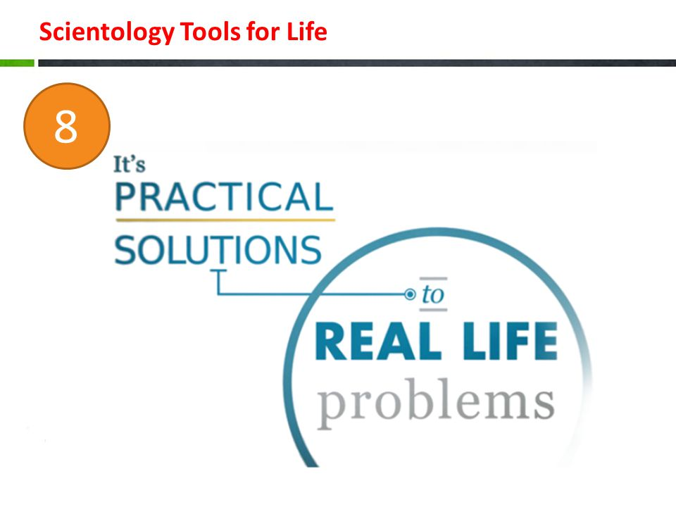 Scientology Tools for Life 8