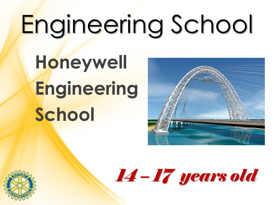 Engineering School Honeywell Engineering School 14 – 17 years old