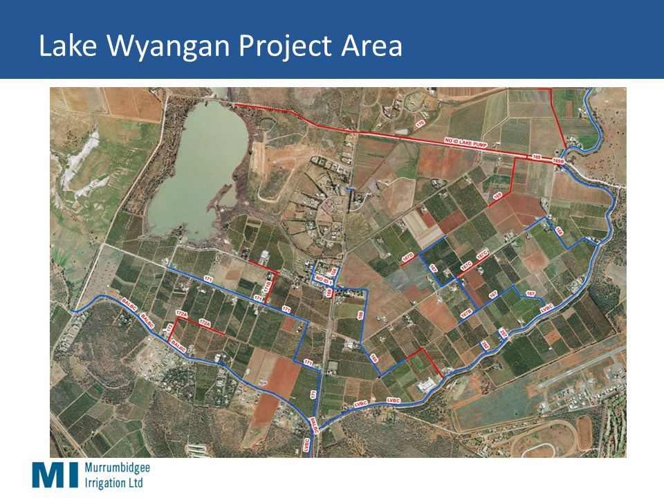 Lake Wyangan Project Area