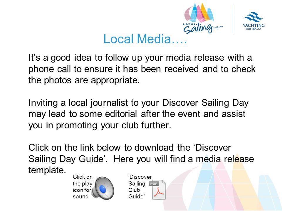 Local Media….