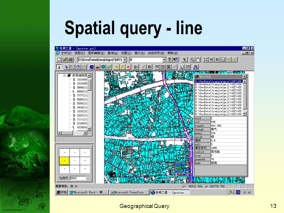 Geographical Query12 Spatial query - point