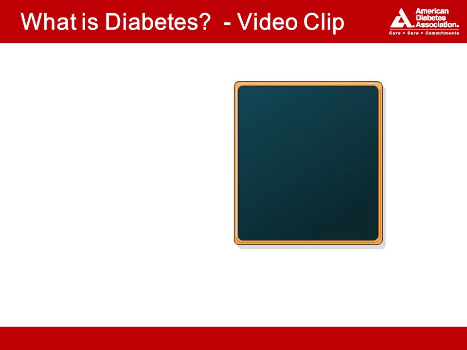 What is Diabetes - Video Clip