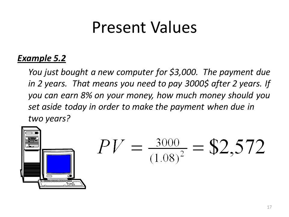 Present Values 16