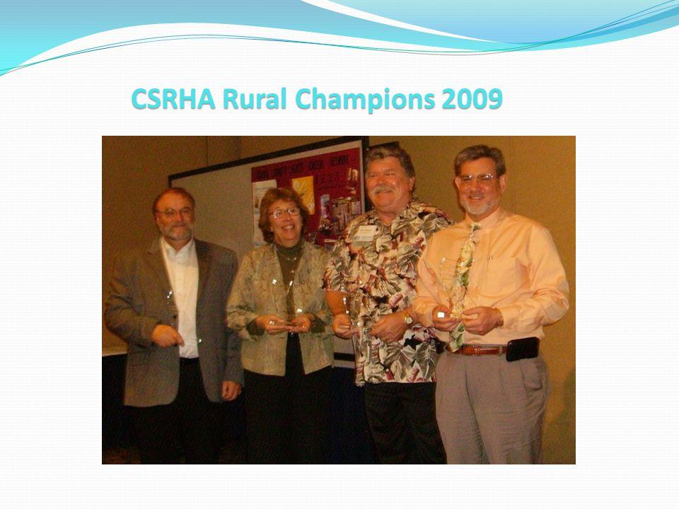 CSRHA Rural Champions 2009