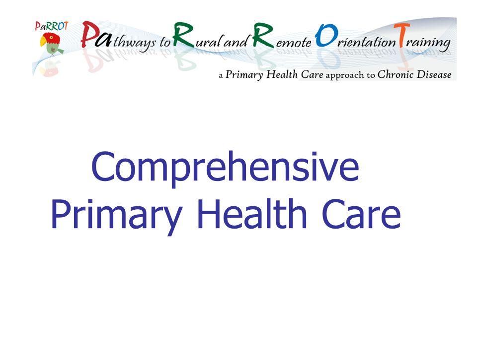 Comprehensive Primary Health Care