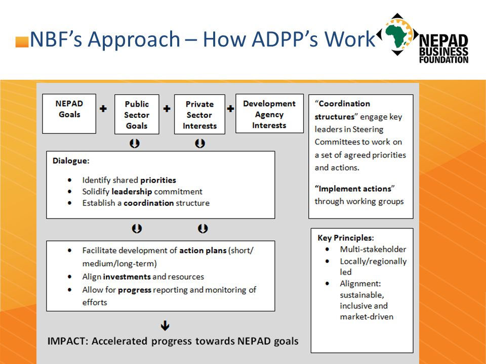 NBF's Approach – How ADPP's Work