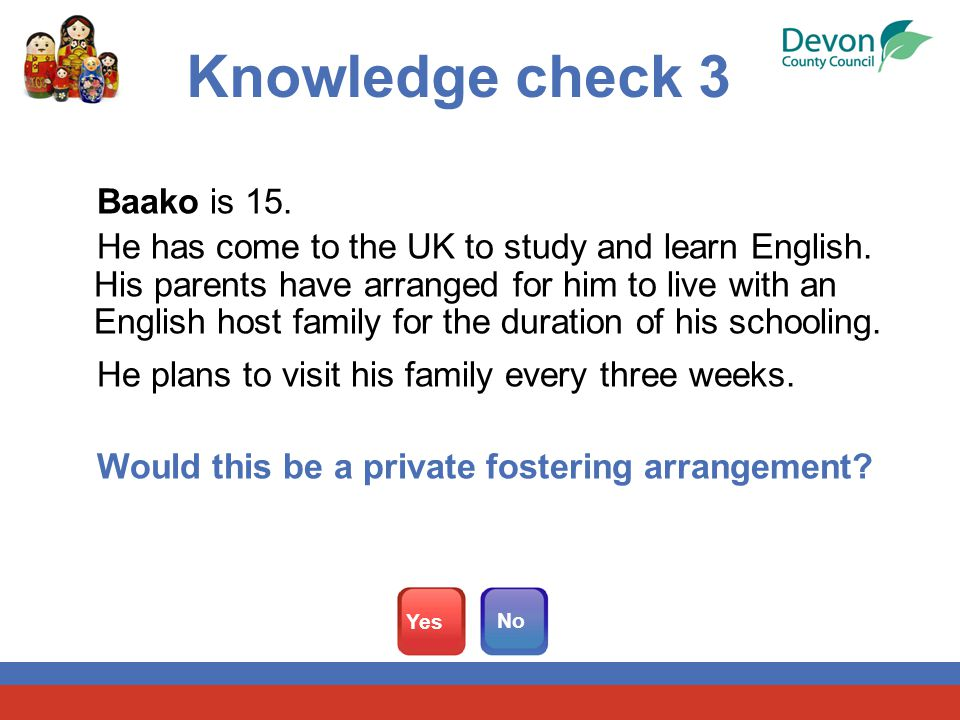 Baako is 15. He has come to the UK to study and learn English.