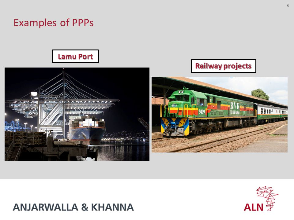 5 Examples of PPPs Lamu Port Railway projects