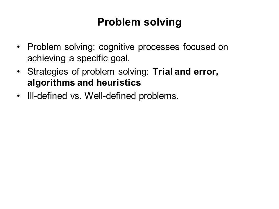 Heuristics vs.