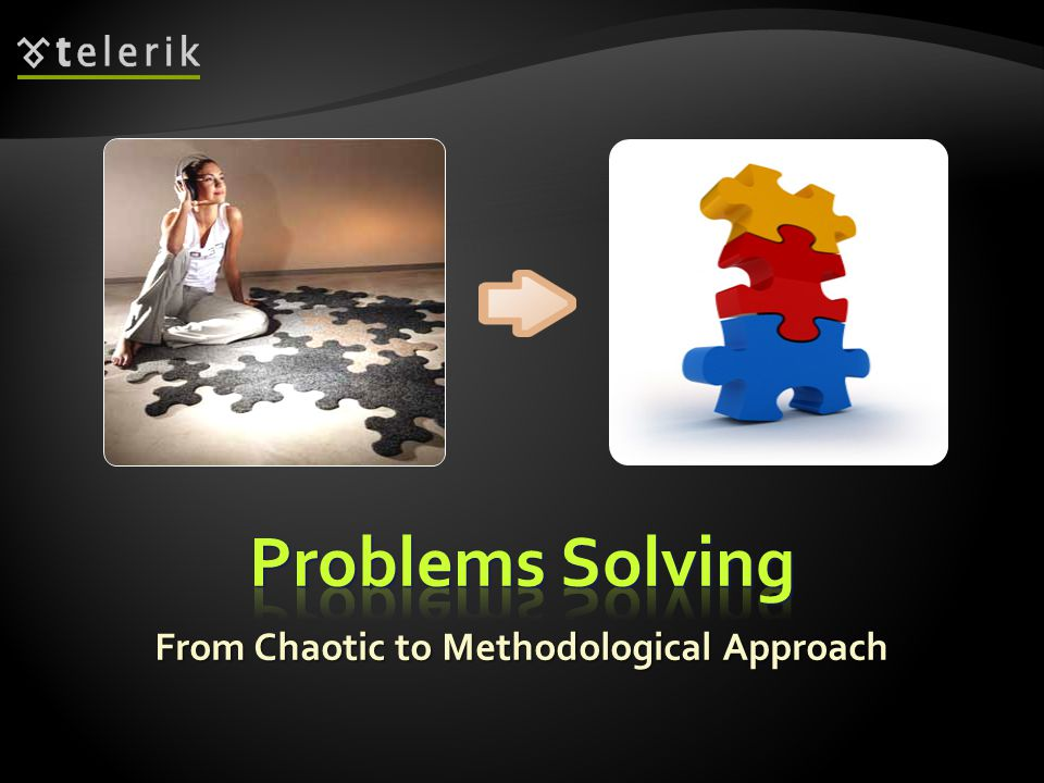 From Chaotic to Methodological Approach