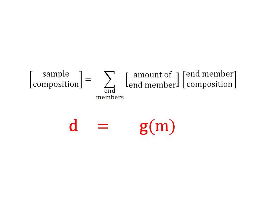 d = g(m)