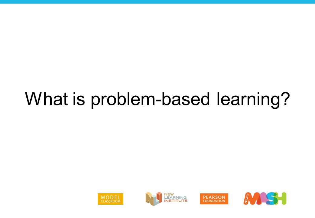 Problem-based learning gives students the opportunity to identify and examine a real problem, then work together to address the problem by mobilizing resources and advocating for a cause.