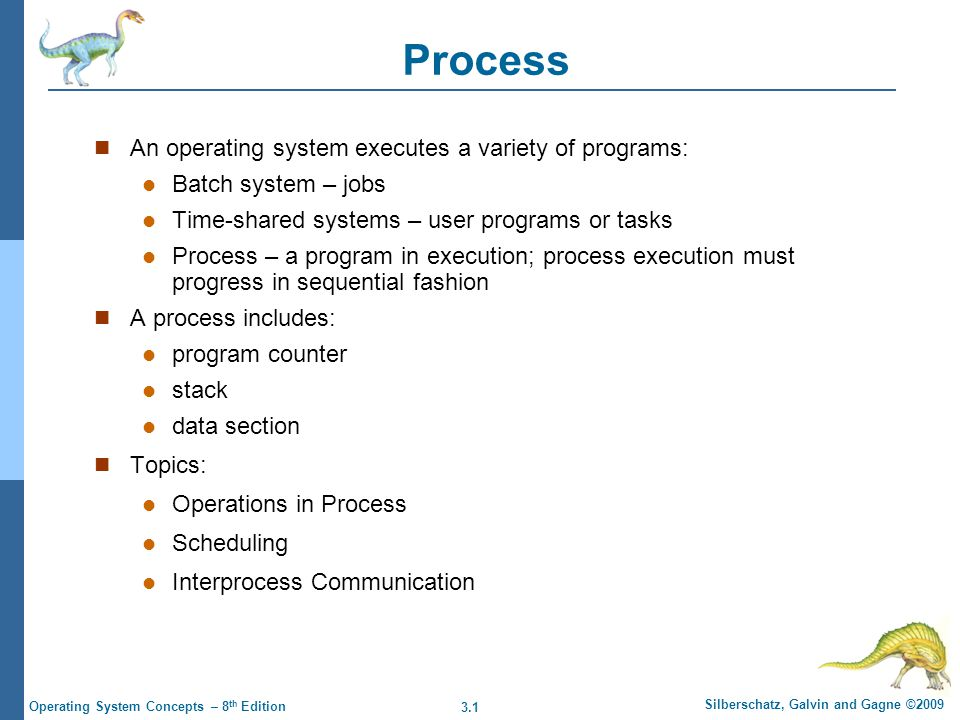 3.22 Silberschatz, Galvin and Gagne ©2009 Operating System Concepts – 8 th Edition User- vs.