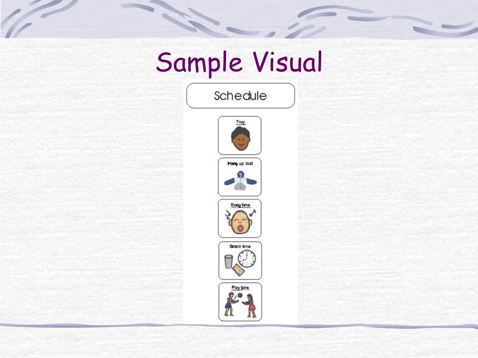 Sample Visual